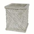 【コンクリート製/アンティーク/植木鉢】ホワイトガーデン クアドラ SA-29320-A1