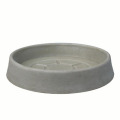 TMラウンドソーサー サンドストーン 24cm(植木鉢/プランター/軽量鉢)SD-H9924S