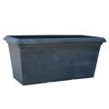 TM プランター グレー 60cm(植木鉢/プランター/軽量鉢/樹脂製)テラミックスSD-H04060G