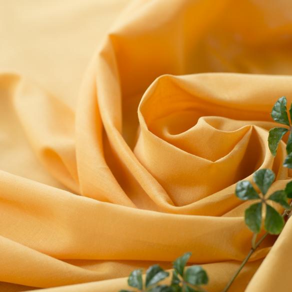 【布帛】やわらかふんわりオーガニックボイル(蜜柑/みかん)オーダーカット
