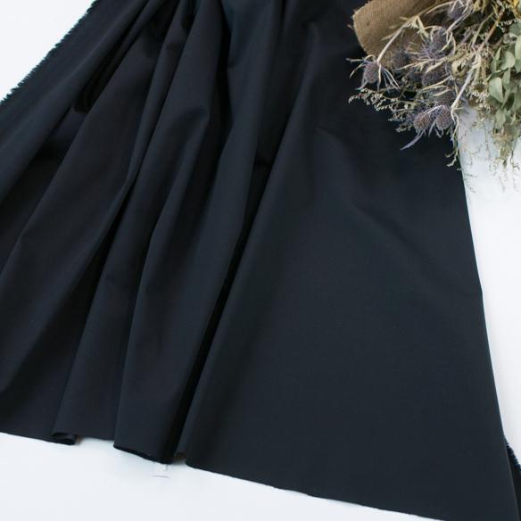 【布帛】セレモニー服にも使える上品なストレッチサテン(ダークネイビー) オーダーカット