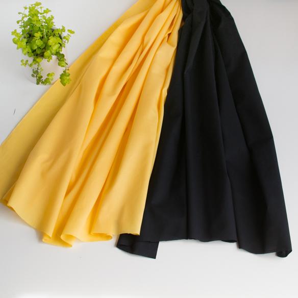 【布帛】ブラウスやスカートに!60ローン(2色) オーダーカット