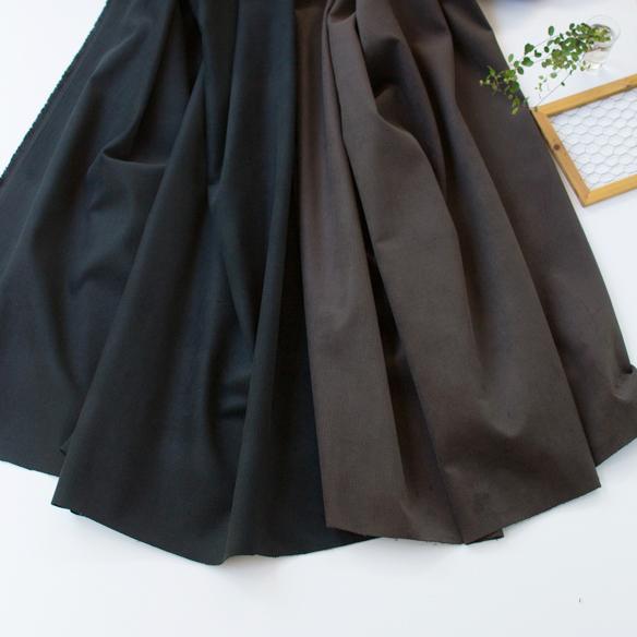 【布帛】パンツやアウターに!綿麻細うねコーデュロイ(2色展開) オーダーカット