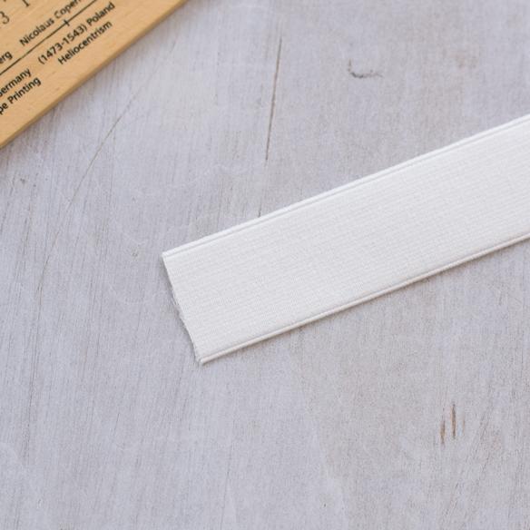 平ゴム(30ミリ/ホワイト)※1メートル単位販売※