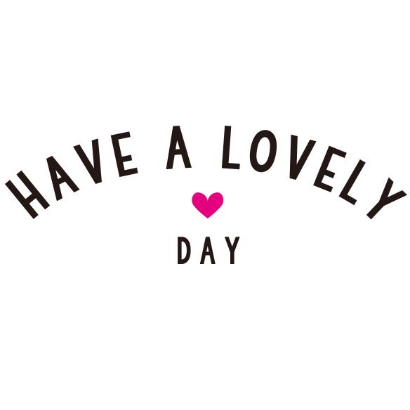 【アイロンシート】Lovely day