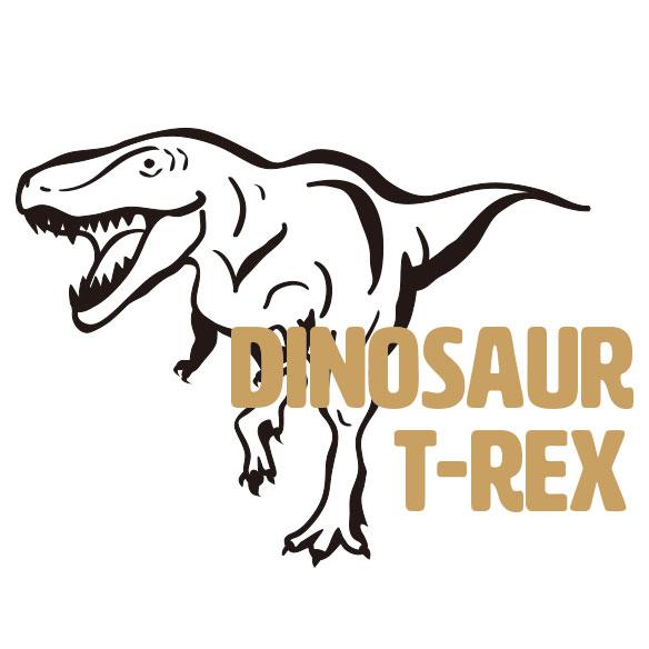 【アイロンシート】ティラノサウルス