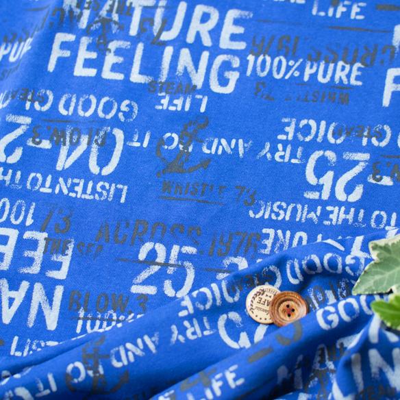 【ニット】イカリ柄プリント天竺:2色展開(ベース:ラフィー天竺or40/2天竺)オーダーカット