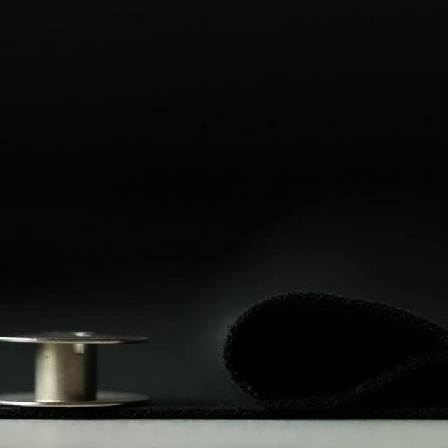 【ニット】プレミアムウォームスムース(ブラック)