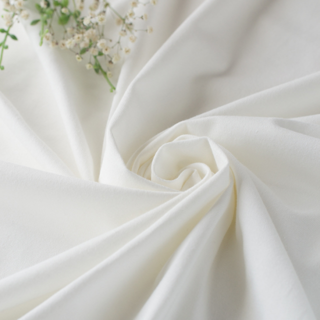 【再入荷】【ニット】40/2 クラシック天竺(オフホワイト)  オーダーカット