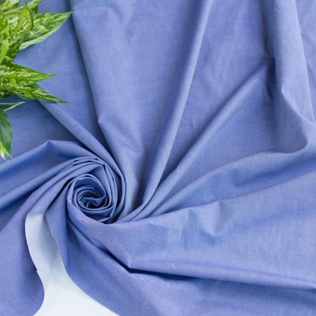 【布帛】先染めツイル(ブルー×ホワイト) オーダーカット
