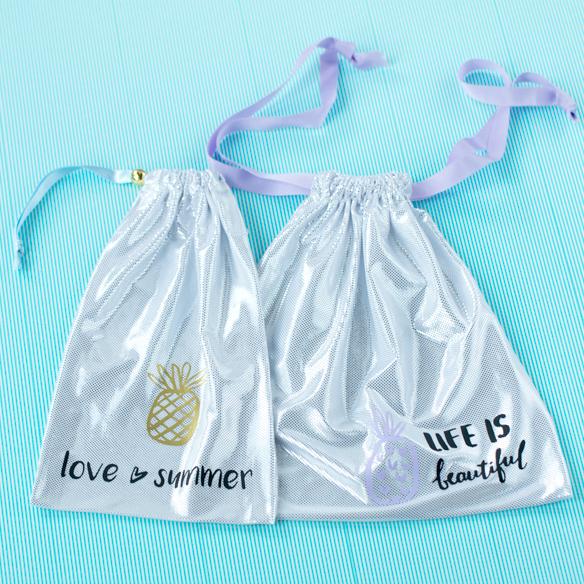 【商品合計2000円以上でプレゼント】夏のお遊び企画!キラキラ巾着つくりませんか?