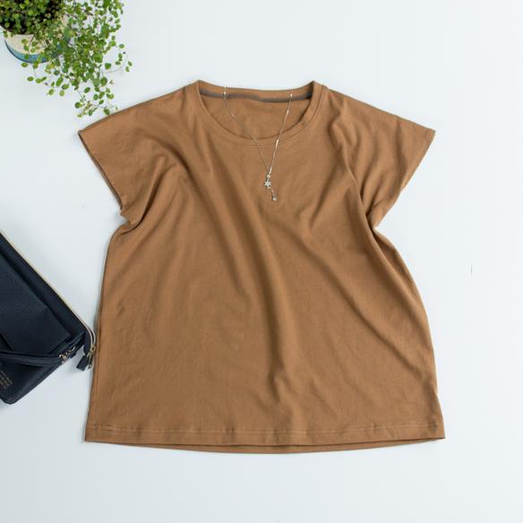 【プレゼントパターン】ゆるTシャツ/レディース(印刷してお届け)