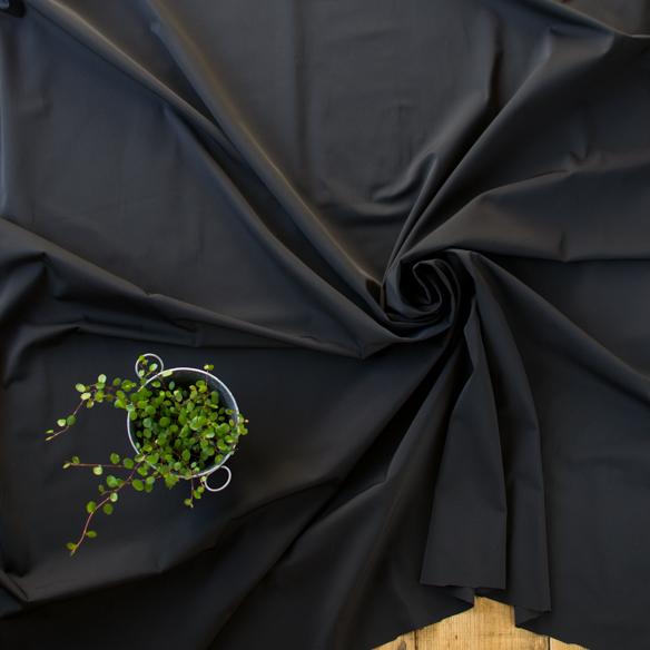【布帛】撥水加工さらさらポリエステル(ブラウンブラック)オーダーカット
