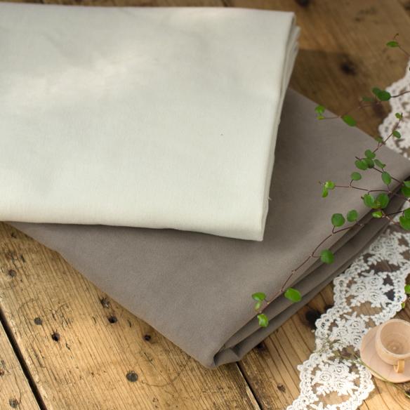 【布帛】イタリア製・幅広コットンフランネル(全2色)オーダーカット