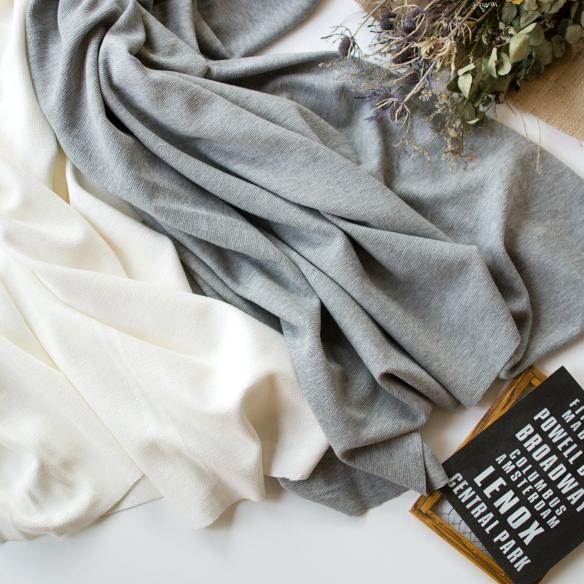 【ニット】初心者さんにも縫いやすいラッチパイルニット(ホワイトのみ) オーダーカット