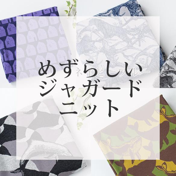 【ニット】☆カットクロス☆珍しいジャガードニット
