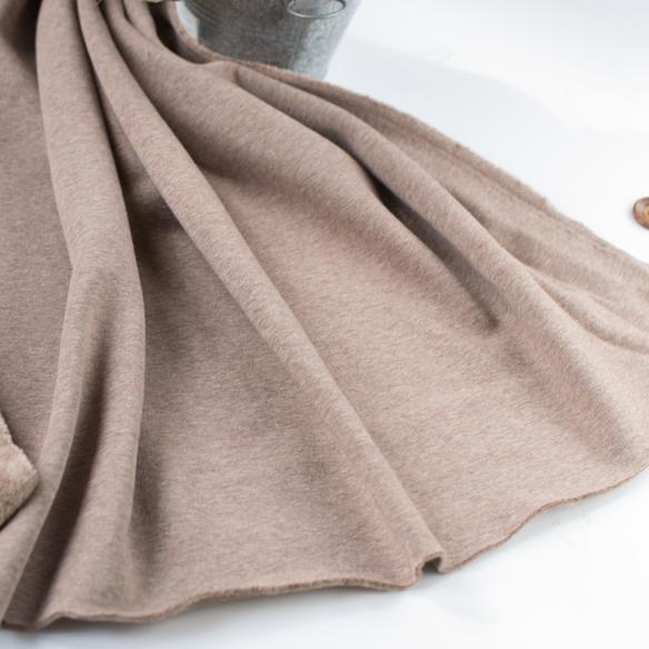 ★1月15日再入荷★【ニット】着る毛布・ボンバーヒート(モンブラン) オーダーカット