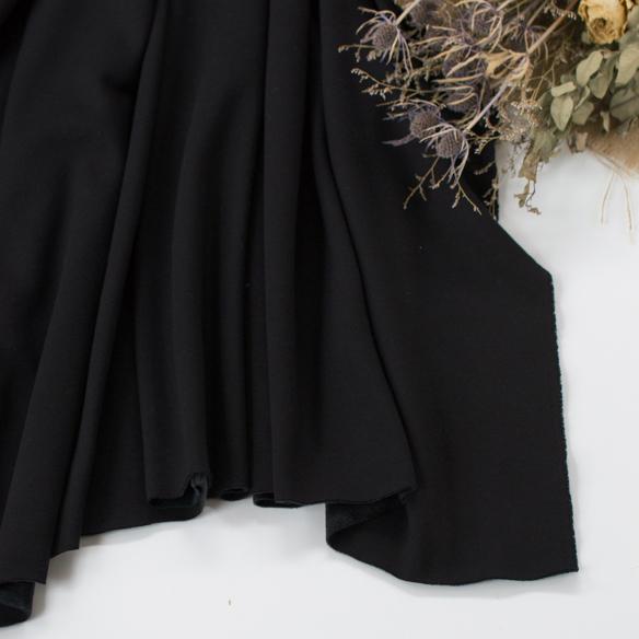 【ニット】着る毛布・ボンバーヒート(ネイビーブラック) オーダーカット