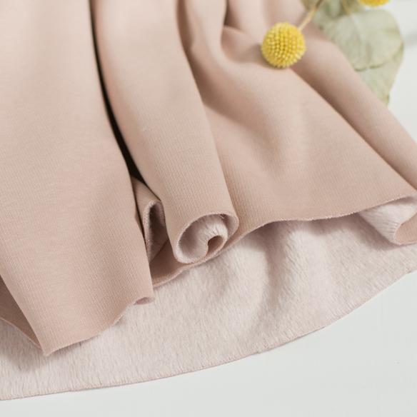 ★10月20日再入荷★【ニット】着る毛布・ボンバーヒート(パウダーピーチ) オーダーカット