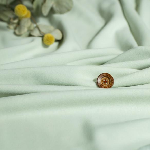 ★10月20日再入荷★【ニット】着る毛布・ボンバーヒート(パウダーグリーン) オーダーカット