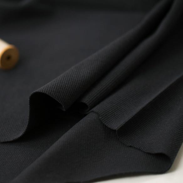 【ニット】40/スパンテレコ(ブラック) オーダーカット