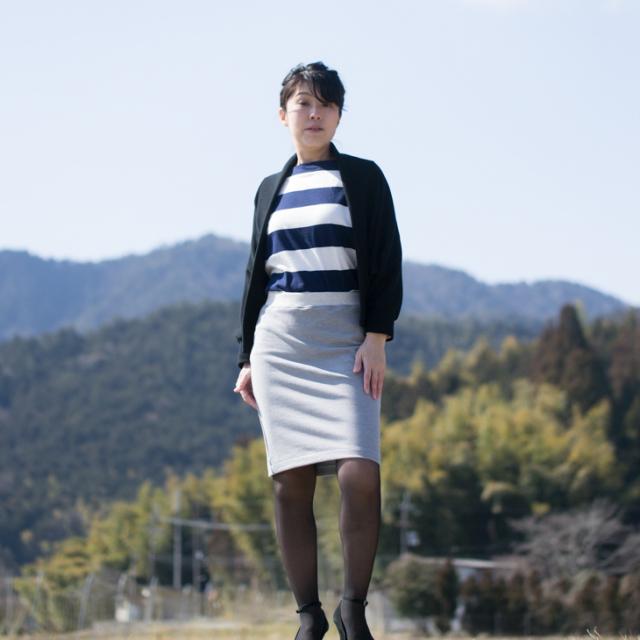 【プレゼントパターン】レディース用ニットタイトスカート