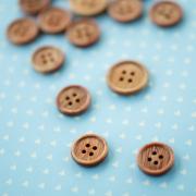 ウッドボタン(15ミリ・18ミリ)
