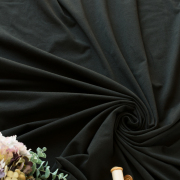 【ニット】40コーマベア天竺(ブラック)  オーダーカット