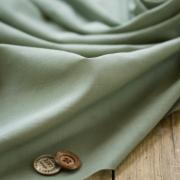 【布帛】やわらかふんわりオーガニックボイル(草色/くさいろ)オーダーカット