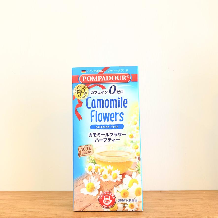 ポンパドールハーブティ【カモミールフラワー】10パック
