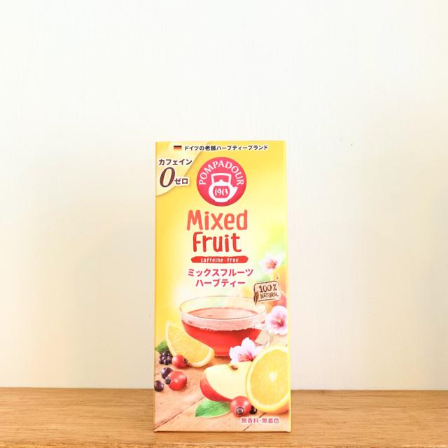 ポンパドールハーブティ【フルーツミックス】10パック