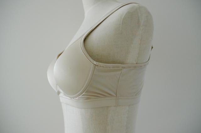 絹のブラジャー