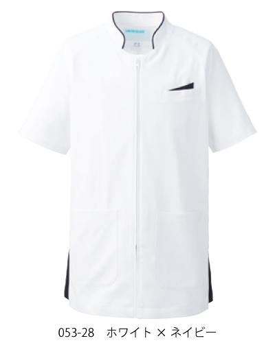 053-28 053-21 KAZEN メンズ ジャケット半袖 2017年新色追加