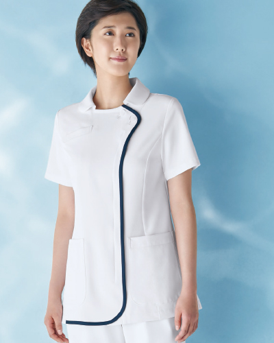 059-28 KAZEN レディス ジャケット半袖