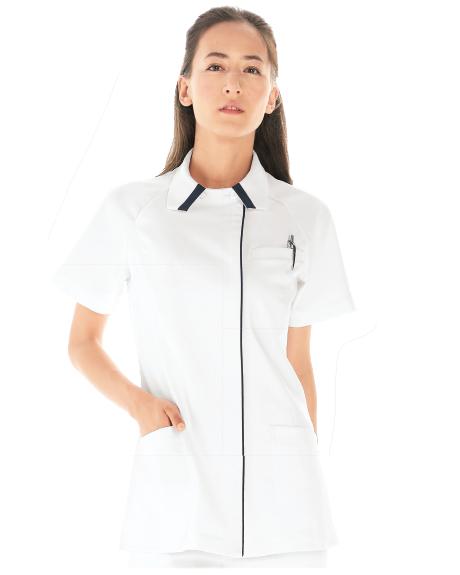 069 KAZEN・カゼン レディスジャケット半袖