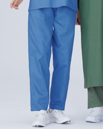 158 手術手術スラックスメンズ カツラギ(綿100%) KAZEN・カゼン