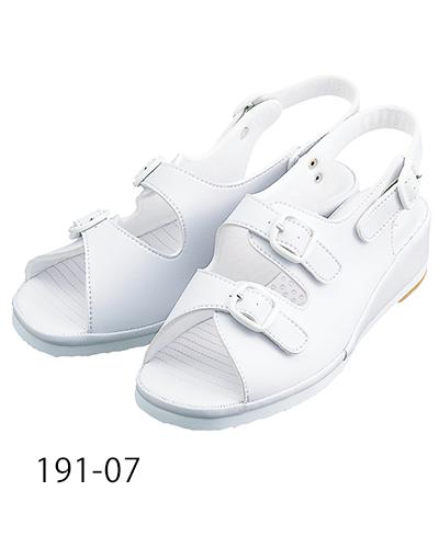 191-07 ナースサンダル ホワイト KAZEN・カゼン