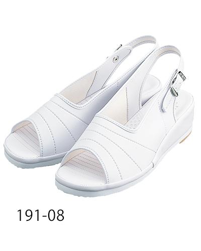 191-08 ナースサンダル ホワイト KAZEN・カゼン