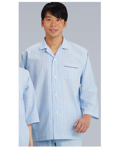 218-98 患者衣(パジャマ型) KAZEN・カゼン(上下別売り)