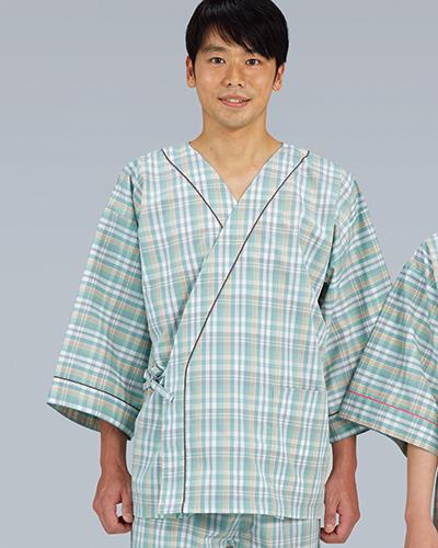 225-23 患者衣(甚平型)男女兼用 KAZEN・カゼン(上下別売り)