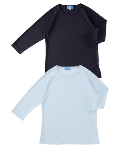 233-08・11 男女兼用インナーTシャツ KAZEN・カゼン