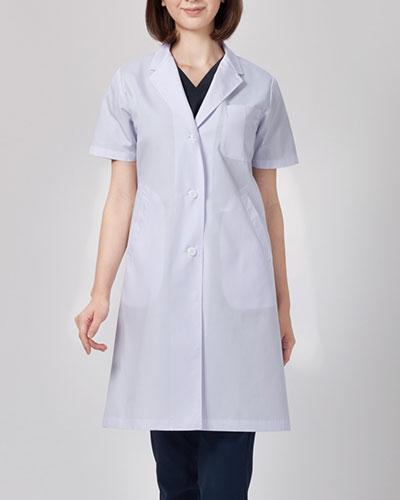 2532PO FOLK(フォーク) レディス診察衣シングル半袖