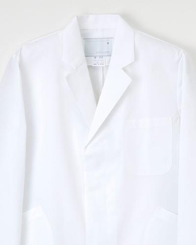 EM-3015 ナガイレーベン(nagaileben)エミット メンズ診察衣シングル型