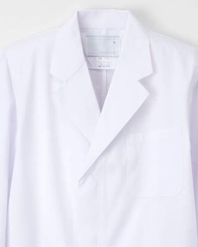 KEX-5110 ナガイレーベン(nagaileben)ケックスター メンズ診察衣シングル型