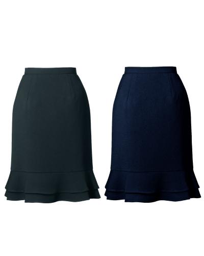51411 ティアードスカート(50cm丈) オールシーズン en joie(アンジョア)