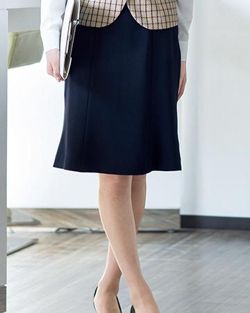 51642 en joie(アンジョア) マーメイドスカート(55cm丈)
