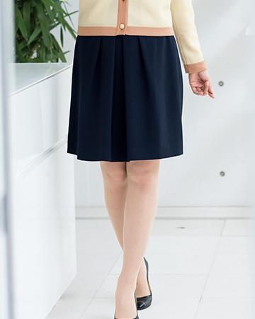 51643 en joie(アンジョア) フレアースカート