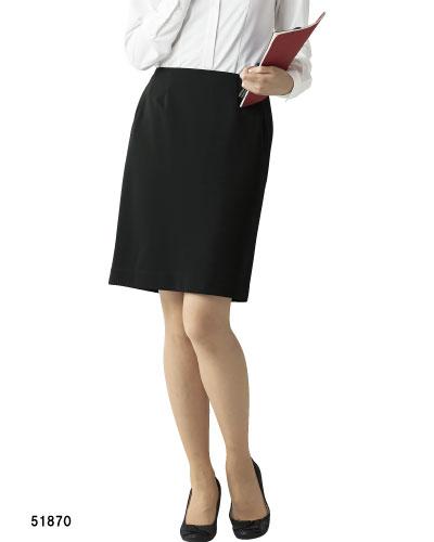 51870 en joie(アンジョア) スカート(55cm丈)