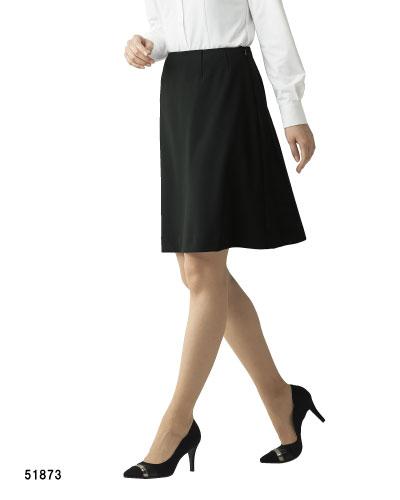 51873 en joie(アンジョア) Aラインスカート(55cm丈)