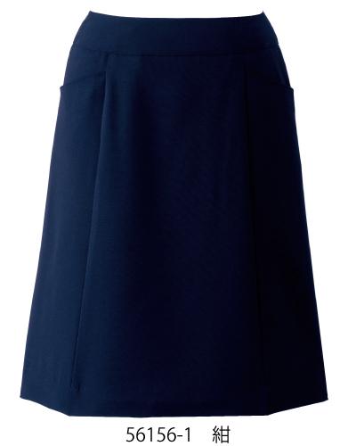 56156 en joie(アンジョア) Aラインスカート(53cm丈)